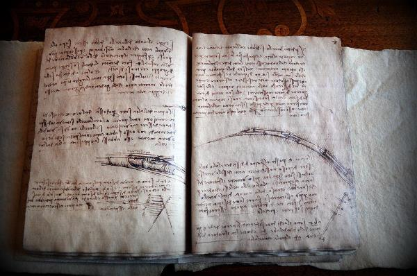 Leonardo Da Vinci, Codex On Flight