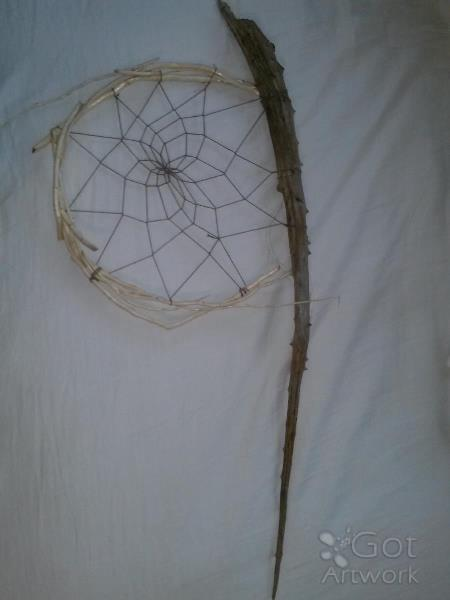 Driftwood Dream Catcher