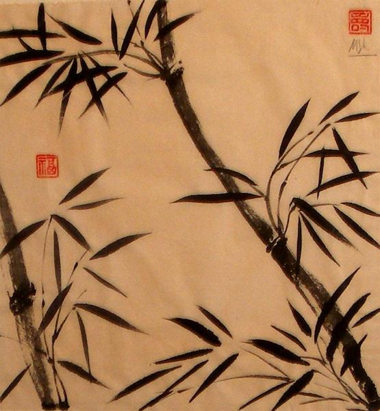 Bamboo In The Brise