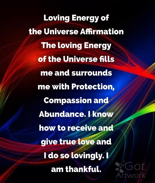 Loving Energy Of The Universe