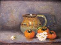 Persimmons And Daises