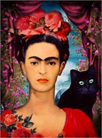 Frida Kahlo As Poster