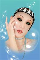 Soap Bubble Woman