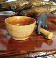 Aspen Mortar And Pestle As Framed Poster