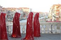 Contemporary Art Biennale Show Project Venice Illuminations Public Art Manfred Kielnhofer Sculpture Statue