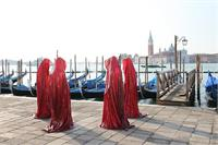 Contemporary Art Biennale Show Project Venice Public Art Illuminations Manfred Kielnhofer Sculpture Statue