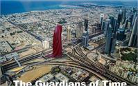 Dubai Art Design Architecture Gallery Museum Sheikh Monk Guardians Of Time Sculpture Tower Hous Of Art Manfred Kielnhofer Kili