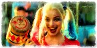 Harley Quinn Happy