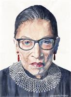 Notorious RBG As Framed Poster