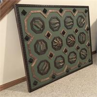 3D Octagon Pattern Wall Art ( Eagan Minnesota )
