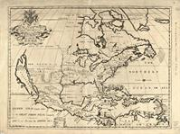 North America Map (1722)