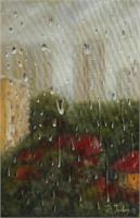 2012 18x24 The Window View Oil Canvas