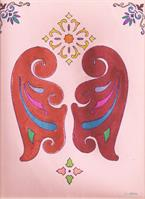 ButterFly As Greeting Card