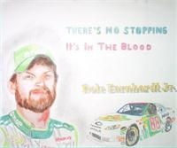 Dale Jr Colored Pencil