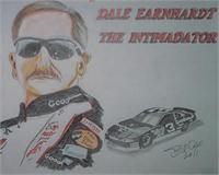 Dale Sr As Greeting Card