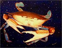 Crab In Space