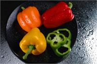 Peppers2wet As Greeting Card