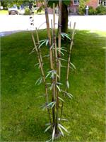 Bamboo--Stanger Moore Sculpture-stainless Steel/copper