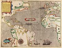 Sir Francis Drake Map