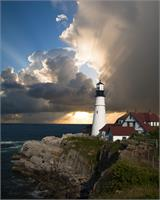 The Lighthouse As Greeting Card