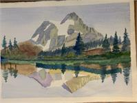 Mountain Watercolor 1