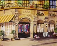 French Bistro On Corner
