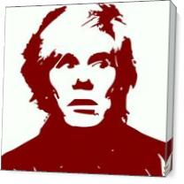 Andy Warhol As Canvas