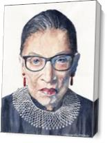 Notorious RBG As Canvas