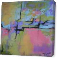 Pastel Impact As Canvas