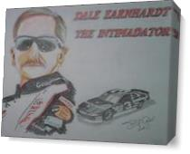 Dale Sr As Canvas