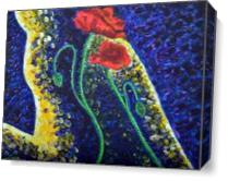 Poppies Beauty 1 As Canvas