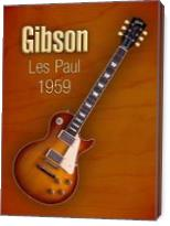 Vintage Gibson Les Paul 1959 - Gallery Wrap