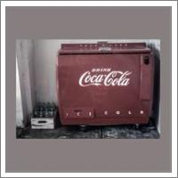 Vintage Coca Cola Cooler - No-Wrap