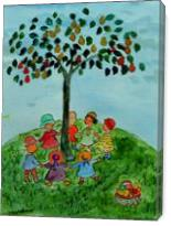 Children Playing - Gallery Wrap