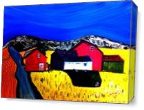 Farm Land As Canvas