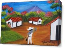El Salvador As Canvas