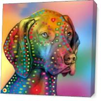 German Shorthair Pointer Copy As Canvas