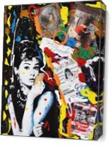 AUDREY HEPBURN Graffitis As Canvas